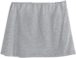 Brawdress 2020 Fashion Adjustable Layering Fake Top Lower Sweep Set Skirt Half-Length Splitting A Version, Black, White An...