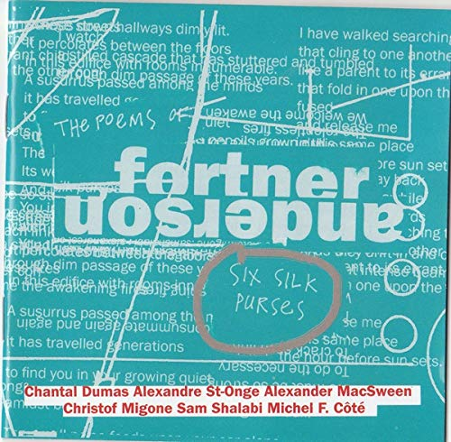 Six Silk Purses [Audio CD] Fortner Anderson