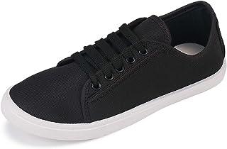 2ROW Women's Canvas Black Sneakers