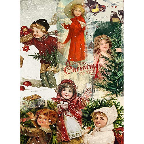 Jigsaw Puzzle 1000 Pieces for Adults Christmas Jigsaw Puzzles for Adults 1000 Pieces Jigsaw Puzzles for Adults Kids Elderly Gifts - A Merry Christmas - Fun Game DIY Home Decor