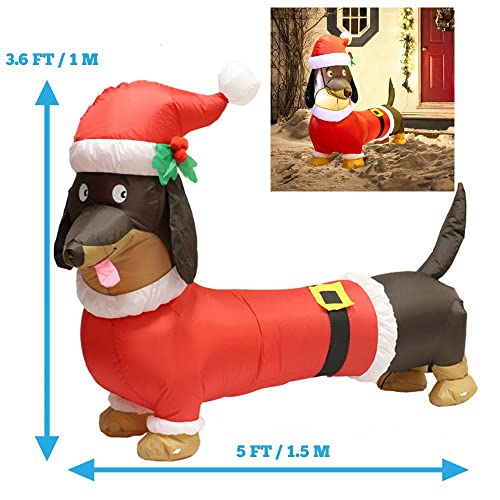 Dog Christmas Lights Decorations Amazon Com