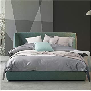 LNLW Cozy Line Home Fashions Colorful Reversible Quilt Bedding Set, Simple Bed Sheet Pillowcase Suitable for Home Interior (Color : Brown, Size : Standard)