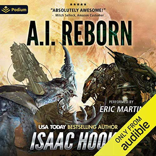 AI Reborn Audiobook By Isaac Hooke cover art