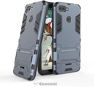 Cocomii Iron Man Armor Xiaomi Redmi 6 Case New [Heavy Duty] Premium Tactical Grip Kickstand Shockproof Hard Bumper [Military Defender] Full Body Dual Layer Rugged Cover for Xiaomi Redmi 6 (I.Black)