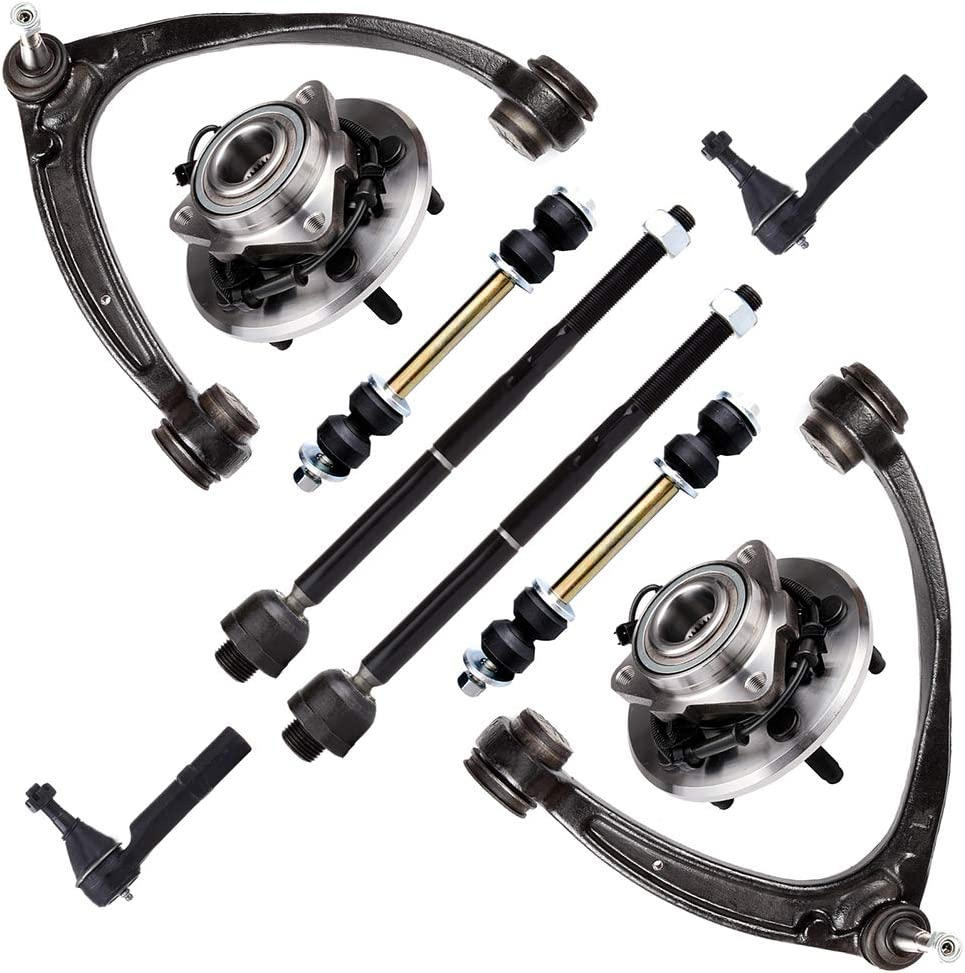 TUPARTS Suspension Kit and Year-end annual account Wheel List price Hub Rod Front Inner L Outer Tie