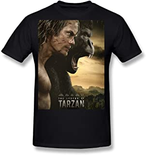 Flesiciate1 Men The Legend Of Tarzan Film Cover Design T-Shirts