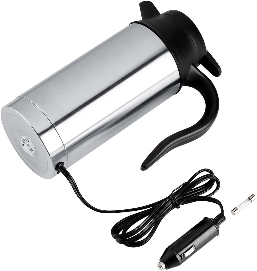 Akozon Car Rapid Max 89% OFF rise Electric Bottle with Stainless Charger St 750ml DC12V