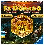 Ravensburger 26855 El Dorado: Héroes y Demonios, Juego de Mesa, Light Strategy, 2-4 Jugadores, Edad Recomendada 10+