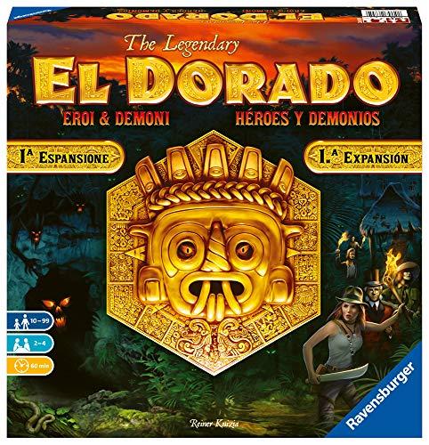 Ravensburger 26855 El Dorado: Héroes y Demonios, Juego de Mesa, Light Strategy,...