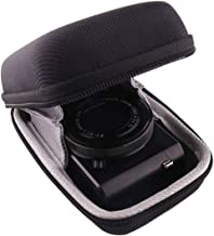 WERJIA Hard EVA Travel Case for PANASONIC LUMIX LX10/DC-ZS70/ZS60/ZS80 Digital Camera (Black)