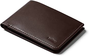 Bellroy Low Wallet, slim leather wallet (Max. 12 cards and flat bills)