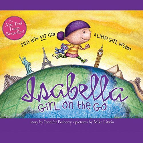 Isabella: Girl on the Go audiobook cover art