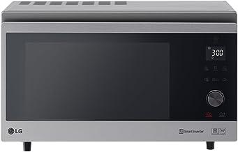 LG Electronics NeoChef MJ 3965 ACS Horno de aire caliente híbrido 4 en 1: vaporera, parrilla, horno, microondas