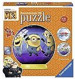 Ravensburger Minions Puzzle Ball 3D 72 Piezas, GRU, Mi Villano Favorito (11826)