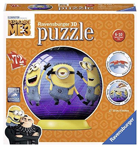 Ravensburger Despicable Me 3, 72pc 3D Jigsaw Puzzle - DM3