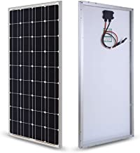 SUNER POWER 100 Watts 12 Volts Mono Crystalline Solar Panel - Off Grid 100W 12V Compact Solar Module for RV, Marine, Boat, Roof, etc.