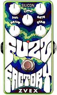 ZVex Effects Vertical Vexter Silicon Fuzz Factory Distortion Guitar Effects Pedal