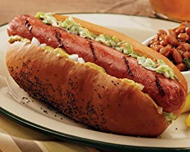 All Beef Jumbo Hot Dogs, 16 count, 3.2 oz each from Kansas City Steaks