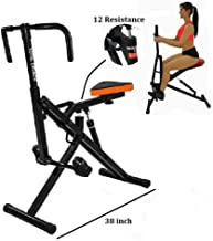 Total Crunch AB Crunch Workout Fitness Exercise Muscle and Cardio Trainer