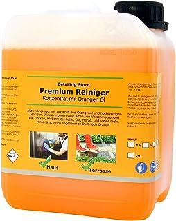 Orangenöl Reiniger Konzentrat - Premium Orangenreiniger - Intensiv Fettlösend 2,5 Liter