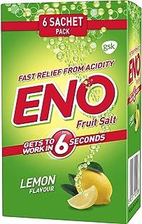 ENO FRUIT SALT Sparkling Antacid Original 6 Sachets Pack