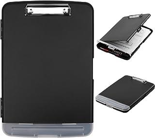 クリップボード a4 クリップファイル 二つ折り A4 バインダー a4 クリップ ケース プラスチック ファイルボード クリアケース 多機能 ライティングパッド メモ 資料ケース フォルダー 折り畳み 書類 収納 伝票 おしゃれ ブリーフ ケ...