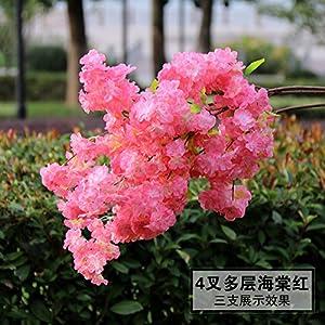 Artificial Flowers Yiting Wedding decoration silk flower plastic length 1M