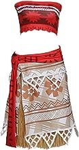 CosplayDiy Women's Fairytale Dress for Moana Princess Moana Cosplay