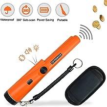 Pin Pointer Metal Detector Waterproof IP66 Water Resistant Handheld Treasure Hunting Tool