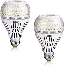 SANSI LED E27 Kaltweiss Lampe 27W LED Leuchtmittel(ersetzt 250W Birne) Edison Glühbirne 4000lm Super Hell für Küche,Werkstatt,Büro,Garage,Hof,Nicht Dimmbar,2er Pack
