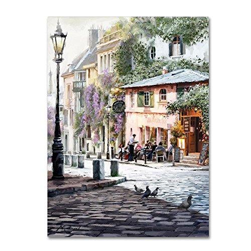 Sunshine Café by The Macneil Studio, 18x24-Inch Canvas Wall Art