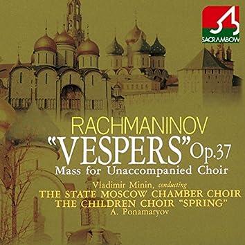 Rachmaninov: Vespers Op. 37