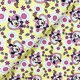 Swafing GmbH Disney Jersey Minnie Mouse Herzen gelb - Stoff