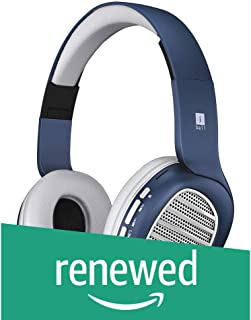 (Renewed) iBall Decibel BT01 Smart Headset with Alexa Enabled (Blue, White and Silver)