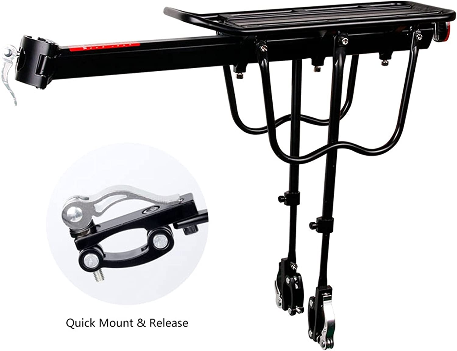 40% OFF Cheap Sale JSJJATQ Bicycle Rear Rack Sale special price 20-29 Bike Carrier Luggag inch