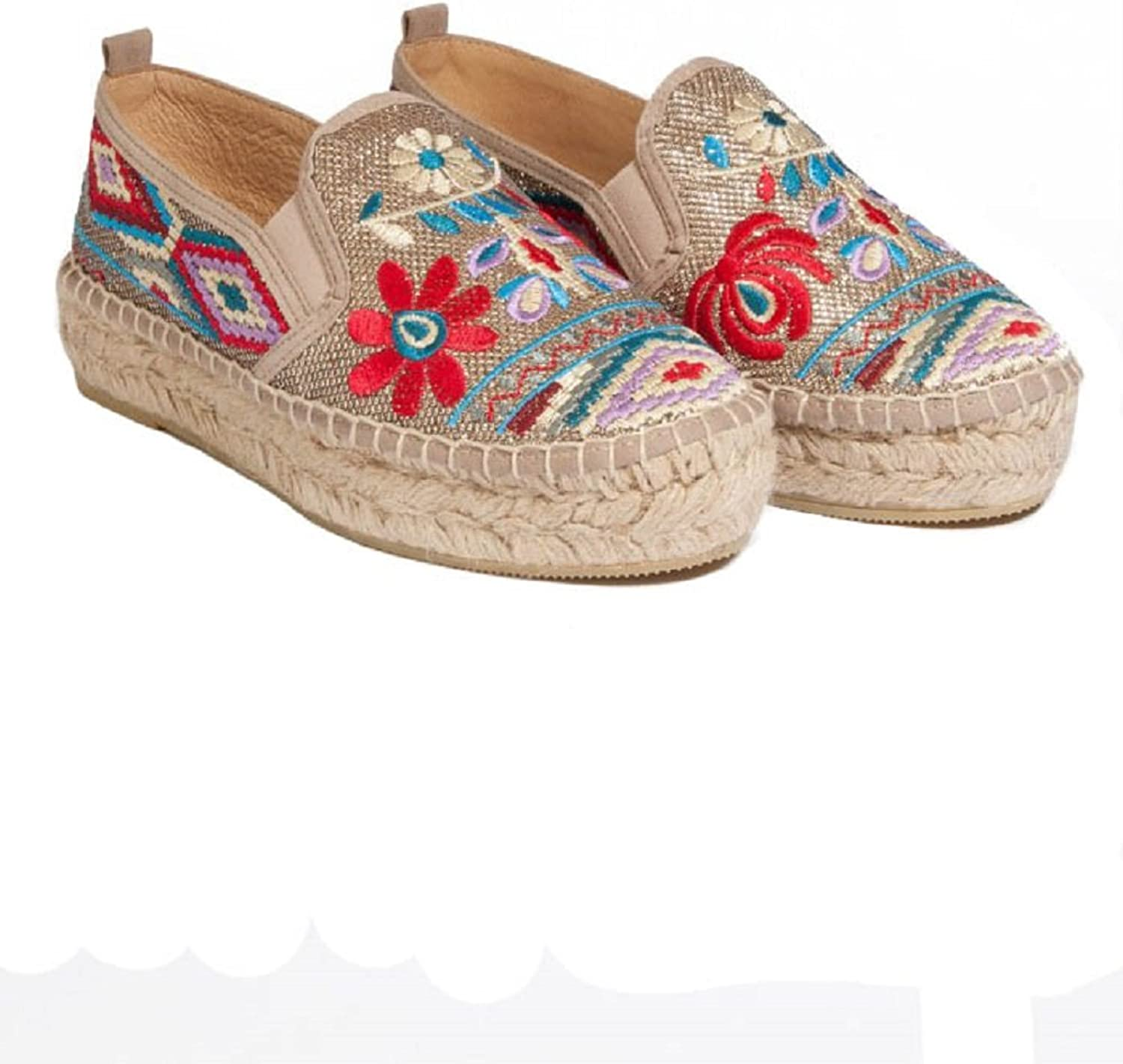 Johnny Was Women's Nepentha Espadrille - CS0517