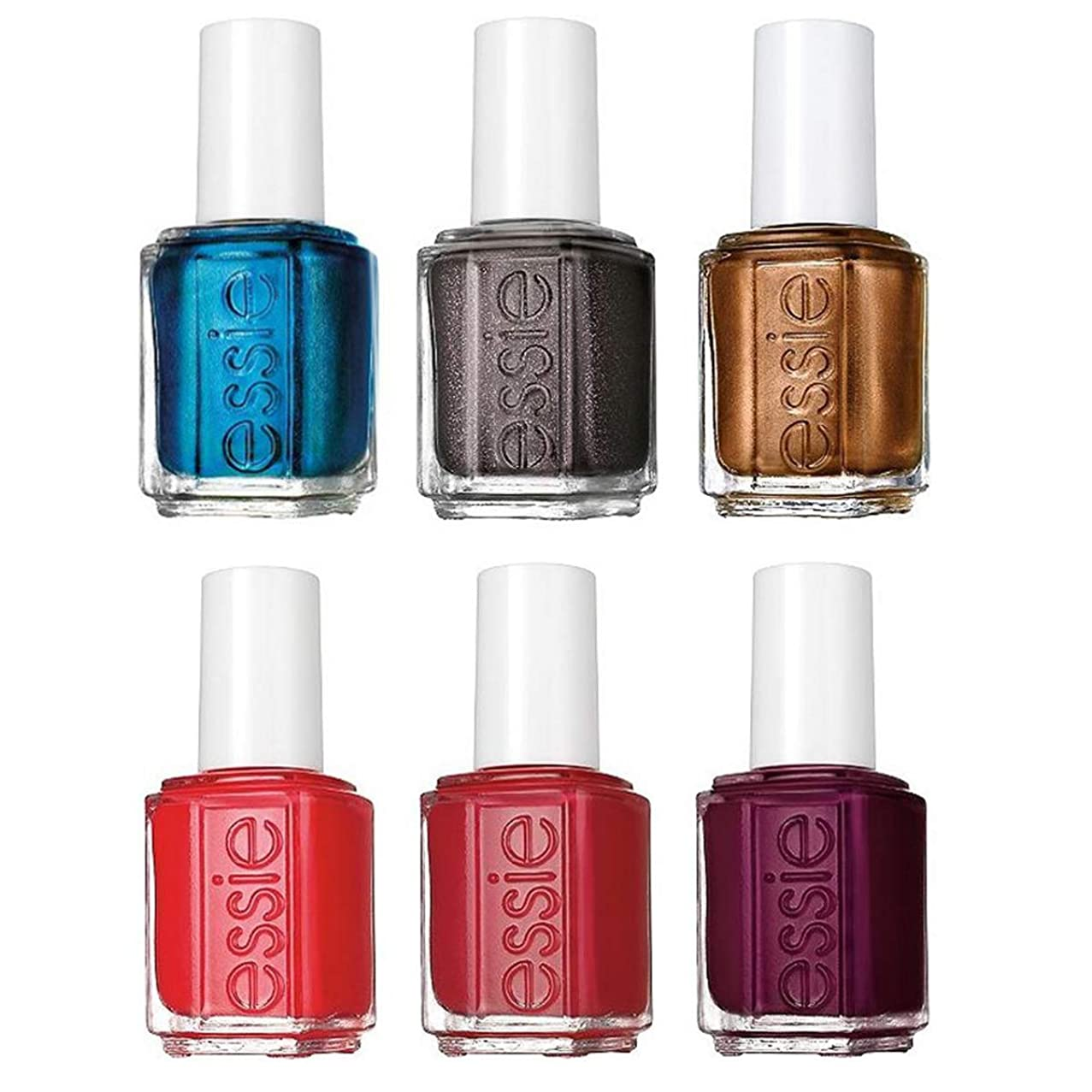 Essie (6 Piece) Essie Nail Polish Set For Girls Birthday Gifts For Women Bachelorette Party Favors