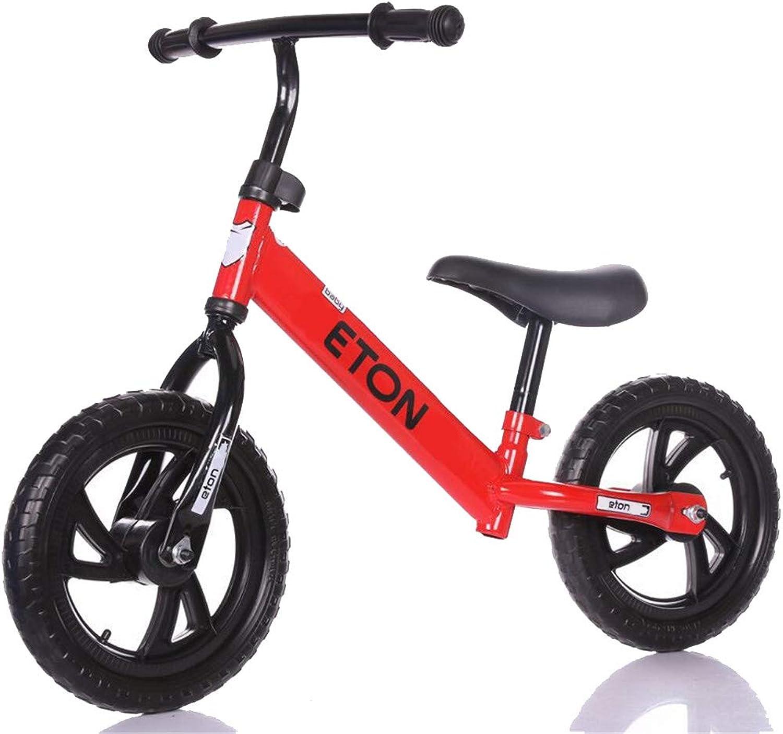 LHY RIDING Kinderfahrrad Kinder-Zweirad Ohne Pedal Kinder Yo Auto 1-3-6 Jahre Alt Balance Auto Rutsche Kinderwagen,rot,91  54  30cm