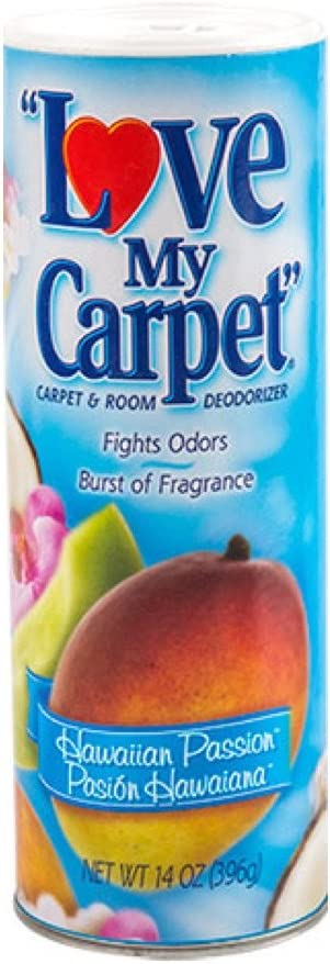 LOVE MY CARPET 2-in-1 SEAL limited product Carpet Deodorizer Passion Sacramento Mall Room Hawaiian