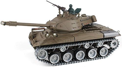 promociones de descuento AXJJ Tanques RC Tank 1 16 M41A3 Metal Edition Toy Toy Toy Decoration Tank 2.4 GHz Carga inalámbrica RC Cars Decoración del hogar Regalo Boy Modelo Control Remoto Coche para Niños  grandes ofertas
