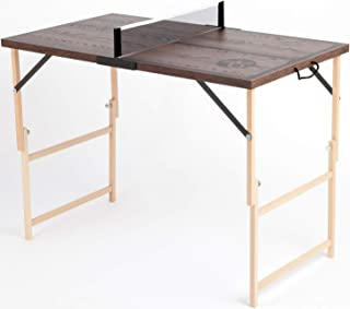 comprar comparacion DISH TENNIS Mini Mesa de Ping-Pong con Red   Producto de Calidad Hecho en Austria   Plegable   fácil de Transportar   Inte...