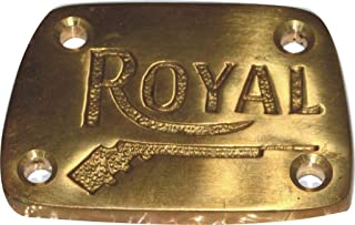 Royal Enfield 350/500 Classic EFI Pure Brass Gun Logo Tappet Cover