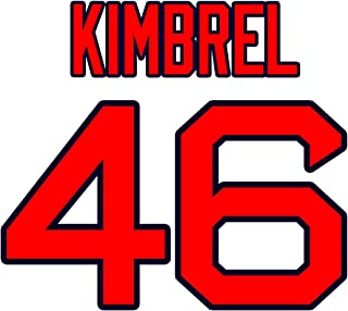 Craig Kimbrel Boston Red Sox Jersey Number Kit, Authentic Home Jersey Any Name or Number Available