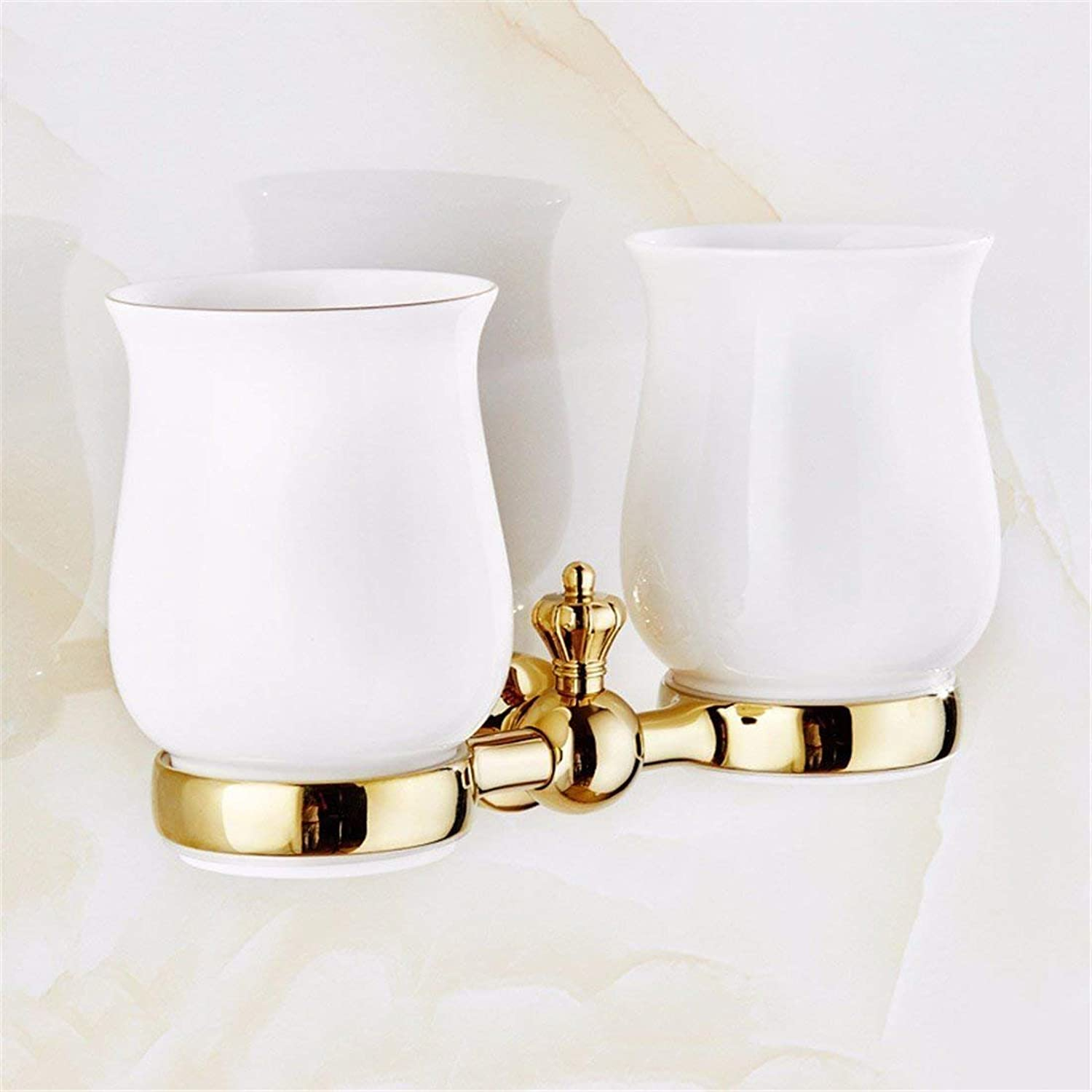 Accessories for Bathroom The Carved Archaize Copper-gold-Dry-Towels, Dual Function Cup