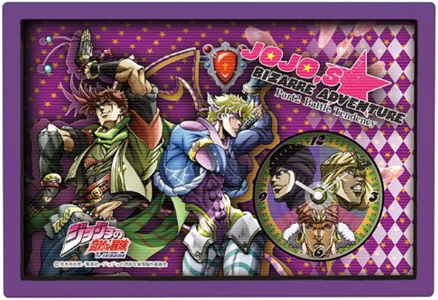 TV anime  JoJo's Bizarre Adventure  3D clock situation (Part 2) (japan import)