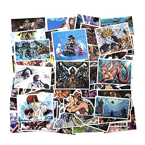 XINSHENG One Piece bauble 100Pcs/Pack One Piece Luffy Graffiti Stickers Classic Anime For Luggage Skateboard Laptop Motorcycle PVC Sticker For Kid
