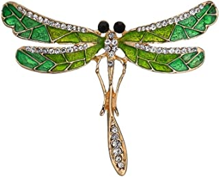 Butterfly Brooches Pins Crystal Rhinestone Corsages Scarf Clips for Women