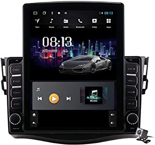 Android 9.0 Car Stereo, Radio for Toyota RAV4 2006-2012 GPS Navigation 9.7 Inch Vertical Screen MP5 Multimedia Player Vide...
