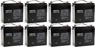 Universal Power Group UBGC2 6V 200Ah SLA Battery for Magnum Energy MM1512AE - 8 Pack