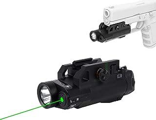 Green Laser Sight with Light Combo 120 Lumen Tactical Green Dot Sights